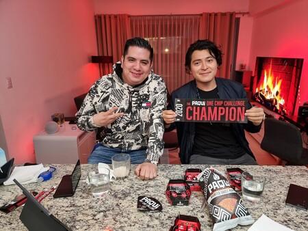 Campeones del One Chip Challenge
