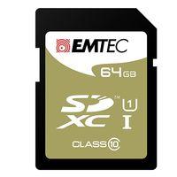 Sólo hoy en Fnac, tarjeta de memoria SD Class 10 EMTEC de 64 Gb por 14,99 euros
