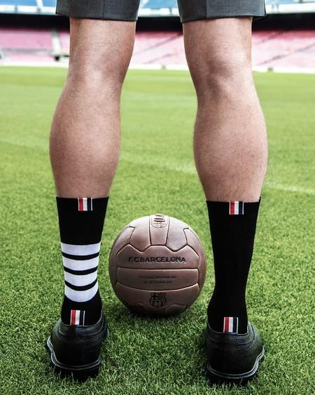 Thom Browne es el nuevo fichaje del Barcelona: vestirá al equipo en sus eventos formales