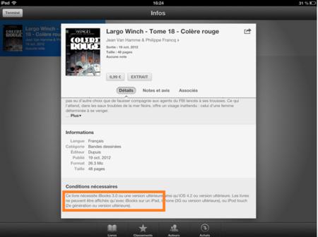 iBooks 3.0, ¿otra pista más sobre lo que Apple mostrará mañana en su presentación?