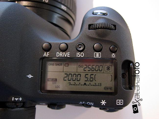 Canon EOS 6D controles