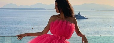 Kendall Jenner es la primera en llevar el vestido estrella de la colección Giambattista Valli x H&M