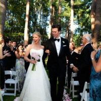 El vestido de boda de Ali Larter, firmado por Vera Wang