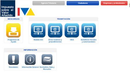Nuevas web para IVA y Módulos de la Agencia Tributaria, ahora más fácil acceder a la información