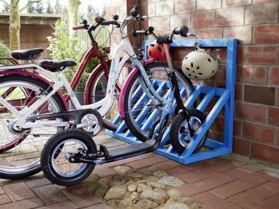 Un DIY para guardar de forma ordenada las bicicletas