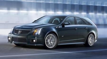 Cadillac CTS-V Sport Wagon, un rival para el Mercedes-Benz E 63 AMG