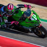 Ana Carrasco seguirá corriendo con una Kawasaki Ninja 400 del equipo Provec en el mundial de Supersport 300