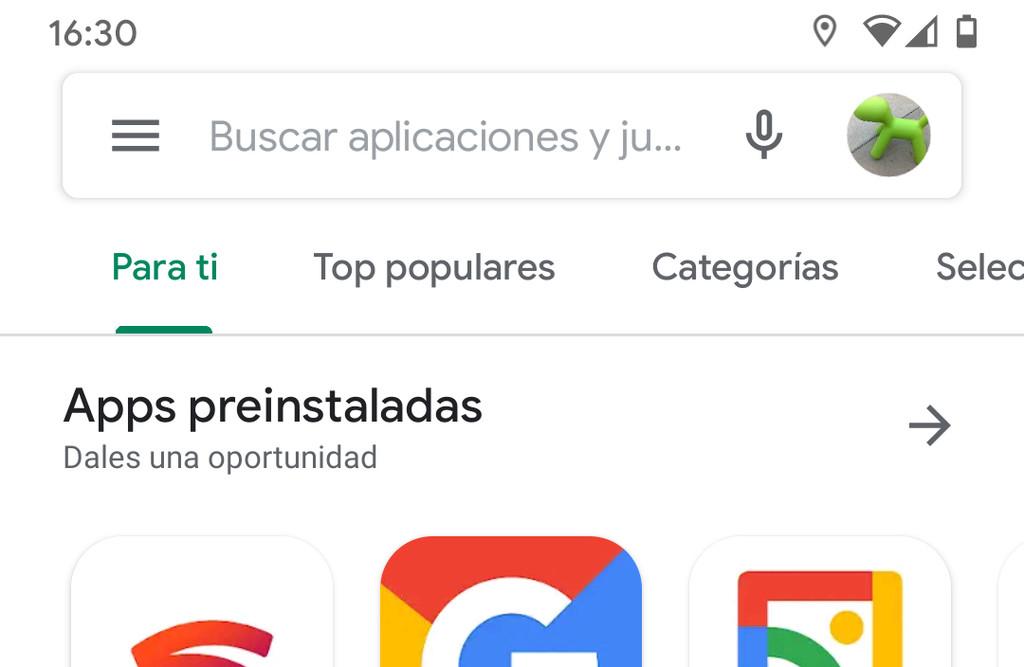 Google Play Store aggiunge il nuovo account di selezione di