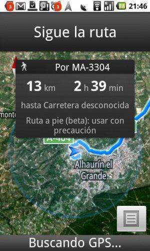 Google Maps se actualiza a su versión 4.5 para Android con Navegación a Pie
