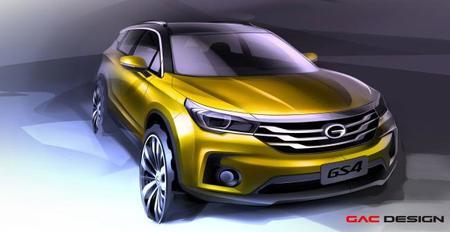 GAC Motor presenta el GS4: El auto con el que planea conquistar al mundo