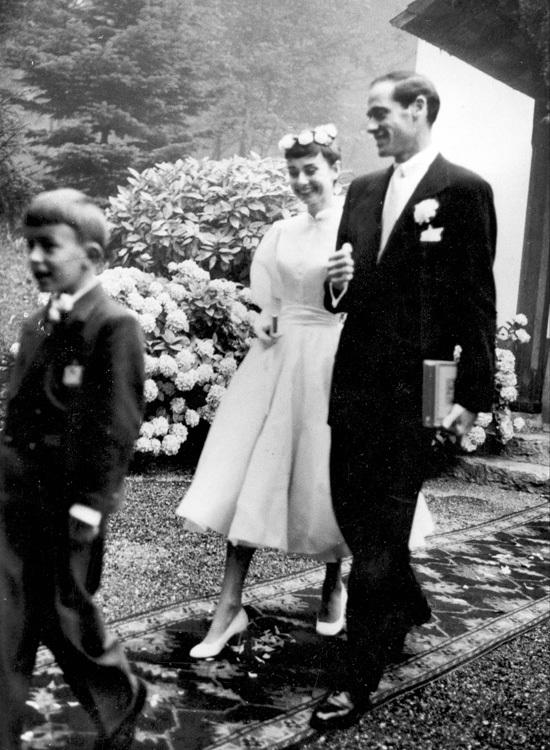 Audrey Hepburn novia boda