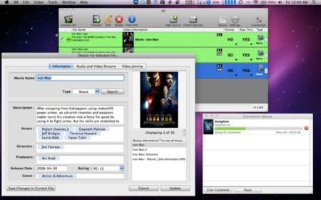 iVI, convierte y añade toda la información a tus películas o series de televisión