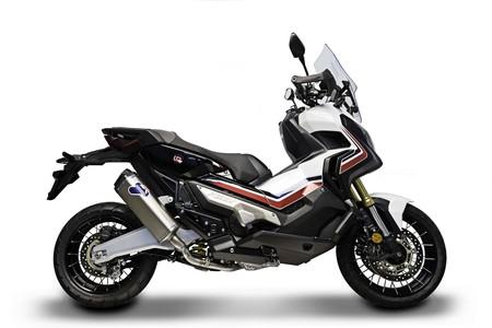 No es barato, pero el escape Termignoni H142 le saca más potencia y rebaja el peso a la Honda X-ADV