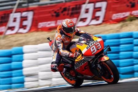 ¡Triplete! Marc Márquez arrasa en Jerez y lidera un podio 100% español en MotoGP con Rins y Viñales