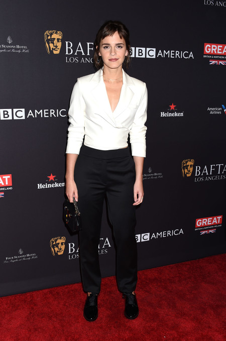 tea party bafta alfombra roja Emma Watson