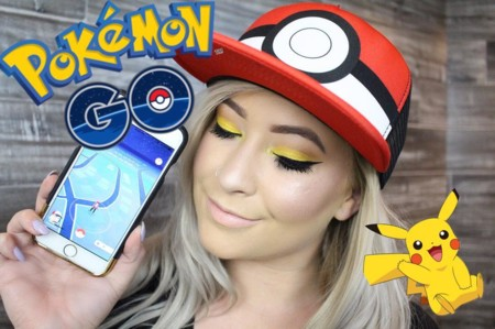 Cuando Pokémon Go se convirtió en inspiración de maquillaje