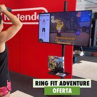 Ponte en forma en tu salón a mejor precio en el Black Friday: Ring Fit Adventure para Nintendo Switch por 66,49 euros