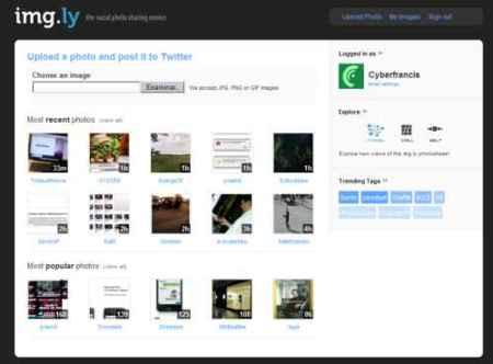 Img.ly, otra opción para publicar imágenes a través de Twitter