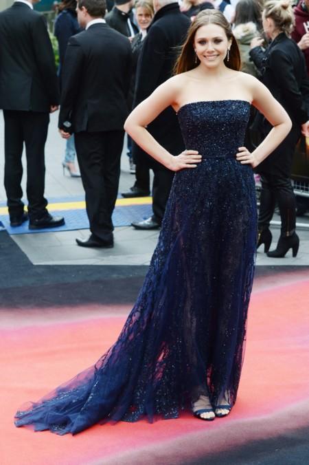 Elizabeth Olsen Estilo Alfombra Roja Look Celebrity 2