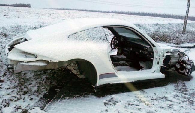 Porsche 911 GT3 RS 4.0 robado