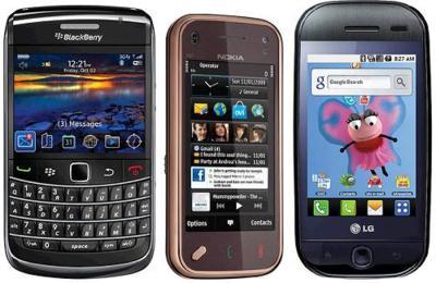 Precios del Nokia N97 Mini, LG GW620 con Android y Blackberry 9700 en Orange