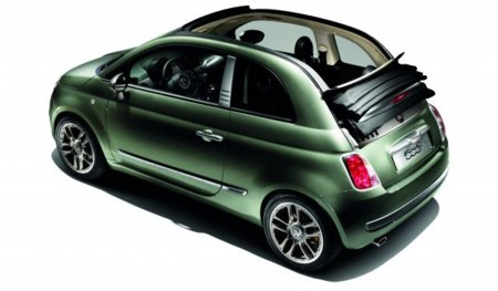 Fiat 500C by Diesel, moda descapotable