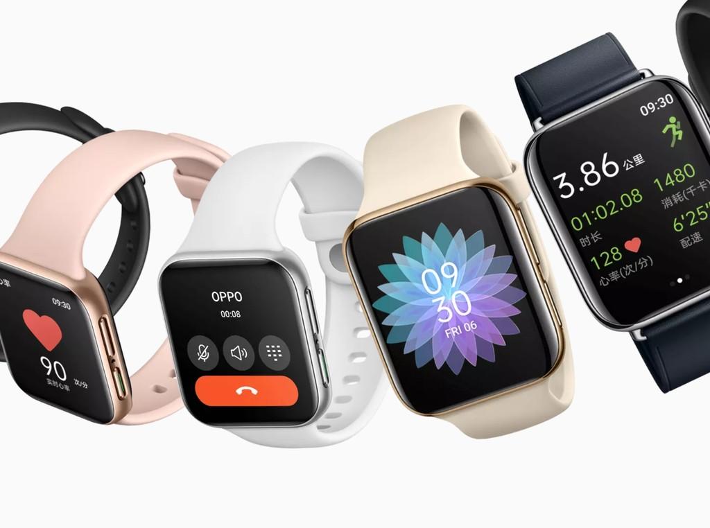 El OPPO Watch es un reloj inteligente basado en ColorOS, con eSIM y carga rápida para competir con el Apple Watch y Android Wear