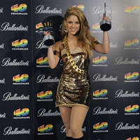 Shakira triunfa en los premios 40 Principales