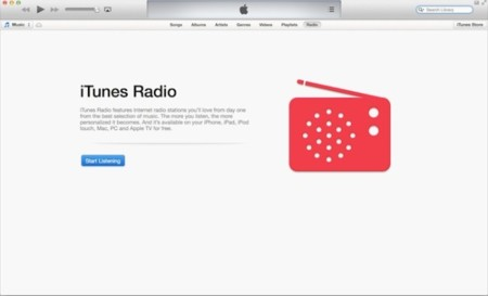 iTunes Radio sale de iOS con la beta de iTunes 11.1
