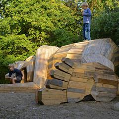 Foto 10 de 11 de la galería gigantes-madera-copenhague en Diario del Viajero