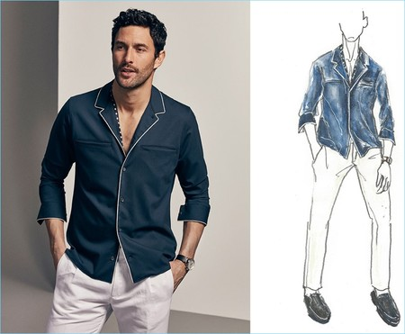 Massimo Dutti 2017 Spring Summer Limited Edition Mens Collection 005