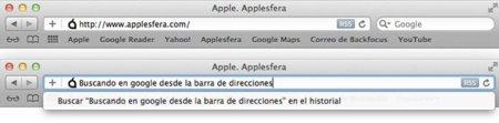 Safari Omnibar, cómo unificar la barra de búsqueda y direcciones de Safari 5 al estilo Google Chrome