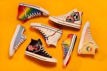 Orgullosos de la cabeza a los pies: las mejores marcas visten sus zapatillas deportivas de Gay Pride