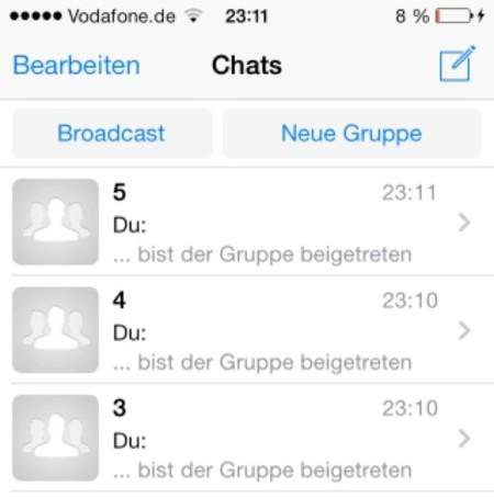 Se filtran las primeras imágenes de Whatsapp para iOS 7