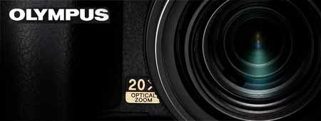 Nueva Olympus SP-570 UZ: Zoom 20X