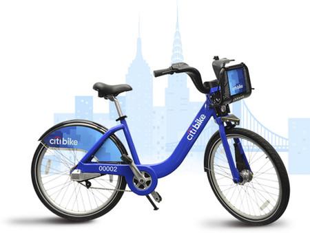 En Nueva York con bici pero sin casco