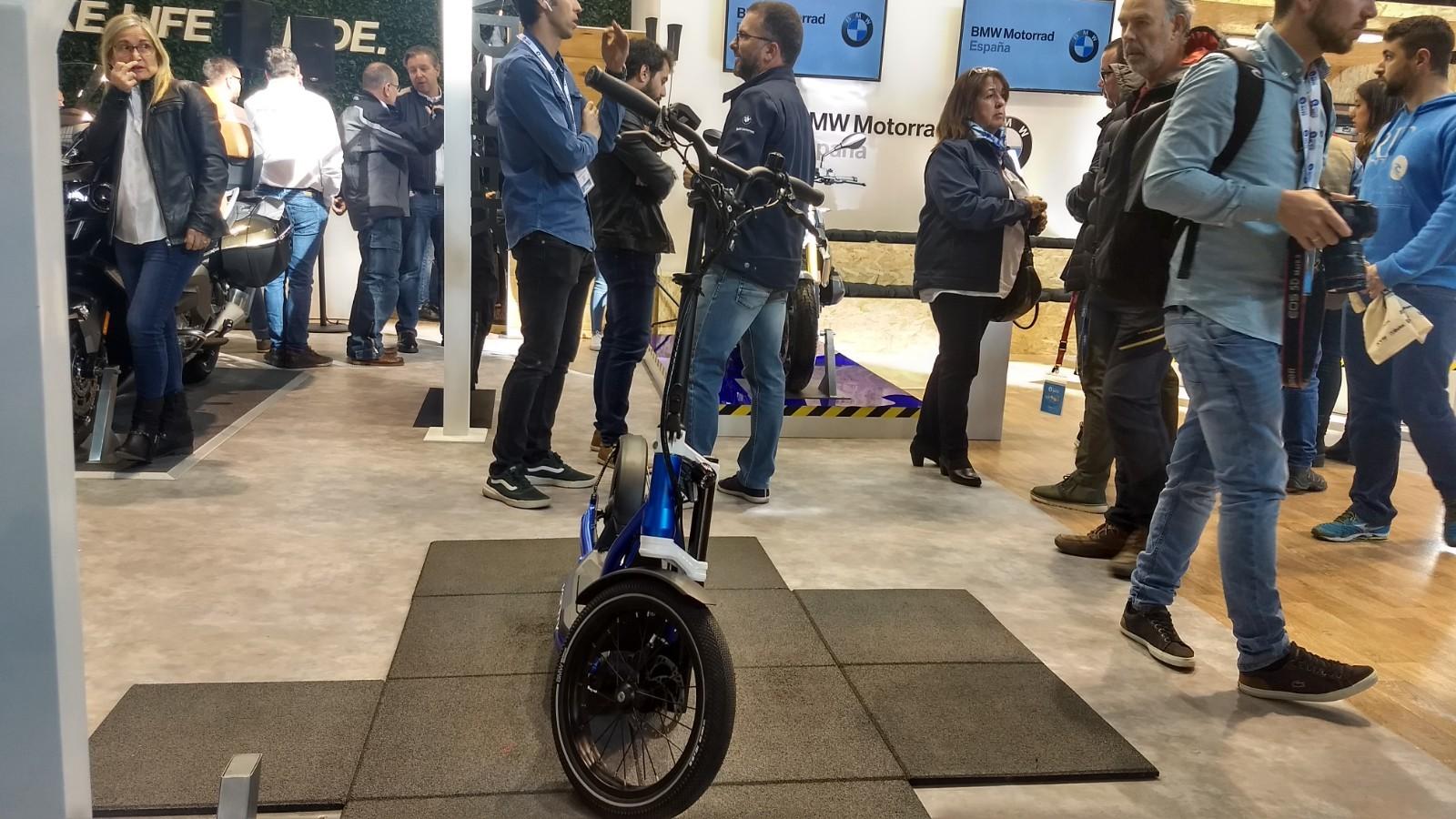 Foto de BMW Motorrad X2City, un patinete eléctrico de la marca alemana (3/10)