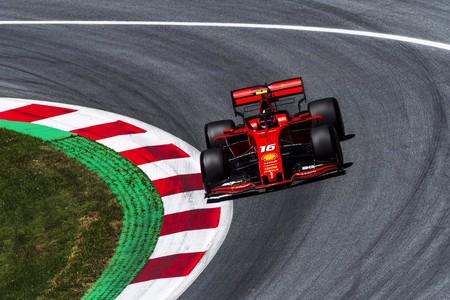 Charles Leclerc vuela en Austria y le da una alegría a Ferrari en otro día negro para Sebastian Vettel