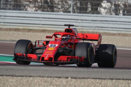 Sainz Ferrari F1 2021