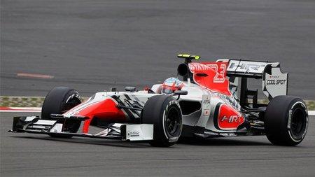 GP de Alemania F1 2011: HRT ocupará la última fila de la parrilla de salida