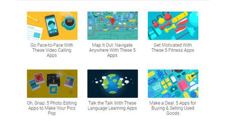 """Así es la renovada """"Selección de los editores"""" de Google Play: las mejores aplicaciones y juegos por temas"""