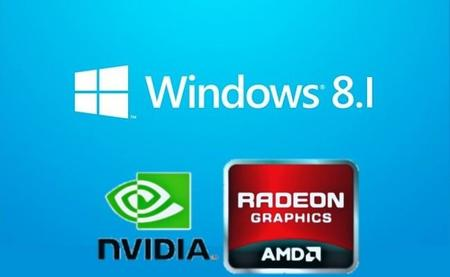 AMD y NVIDIA actualizan sus drivers gráficos para Windows 8.1 Preview