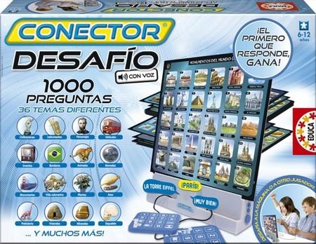 Los juegos Conector de Educa para poner a prueba los conocimientos, la intuición y la rapidez de los peques