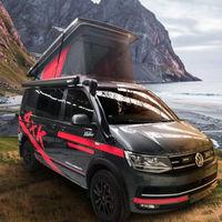Volkswagen California Klubber 4x4 T6 Red Edition, la van alemana se hace aún más aventurera