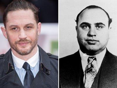 Tom Hardy se convierte en Al Capone en la primera imagen de 'Fonzo'