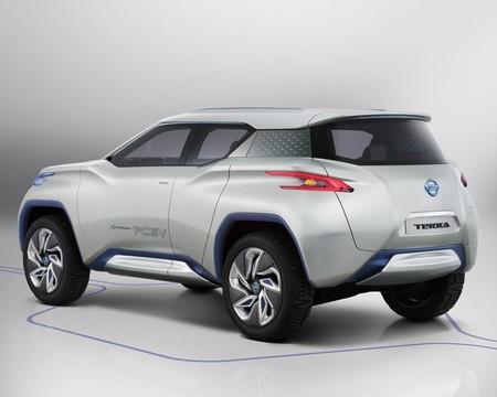 Nissan Terra hidrógeno trasera