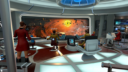 The Star Trek: Bridge Crew