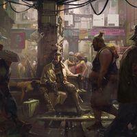 El arte conceptual que Cyberpunk 2077 mostró en la GamesCom incluye mensajes ocultos