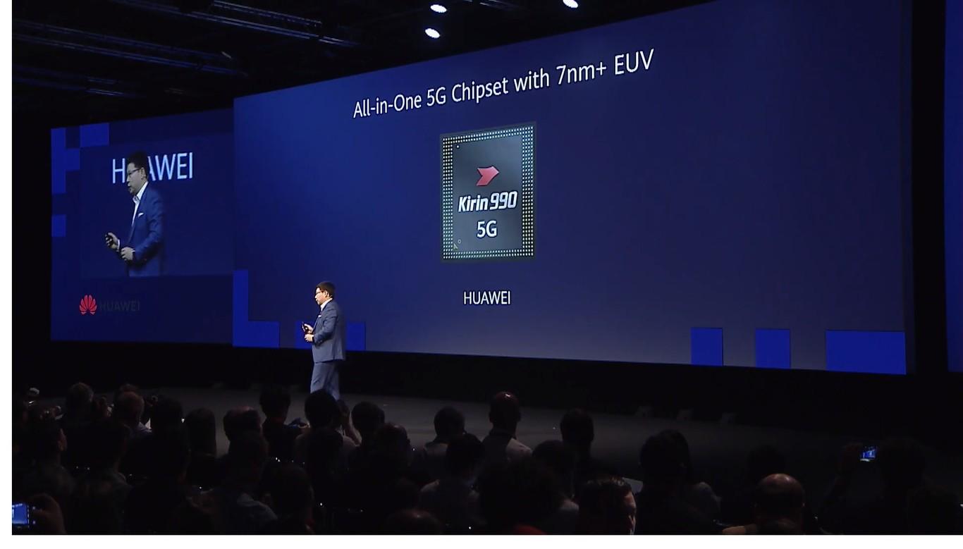 El Kirin 990 de Huawei es oficial: 7 nanómetros EUV para acceder a redes 5G SA y 5G NSA