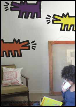Foto de Vinilos de Keith Haring (8/8)